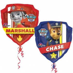 Balão Supershape Chase e Marshall